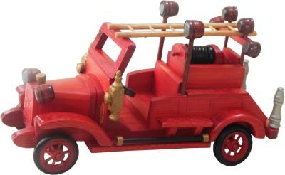 ZoneMart Wooden Fire Van