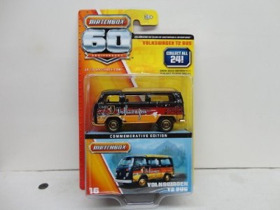 Matchbox Volkswagon T2 Bus Commemorative Edition