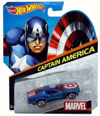 Hot Wheels Marvel: Captain America - Character Car