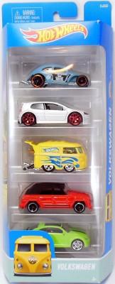 Hot Wheels 5 CAR PACK-VOLKSWAGEN