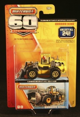 Matchbox Quarry King 60Th Anniversary 2013 Commemorative