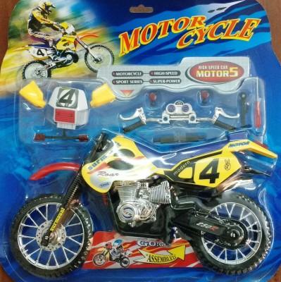 Jaibros Kids Playing Stunt Toy Motorcycle