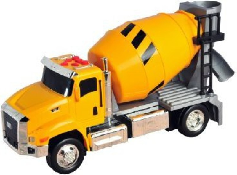 Toystate State Caterpillar Lights And Sound Cement Truck(Yellow)