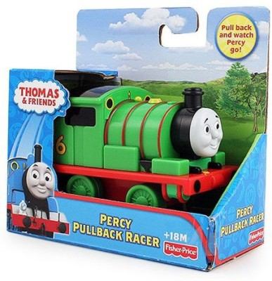 Thomas the Tank Engine Fisherprice Thomas And Friends Pullback Racer [Percy]