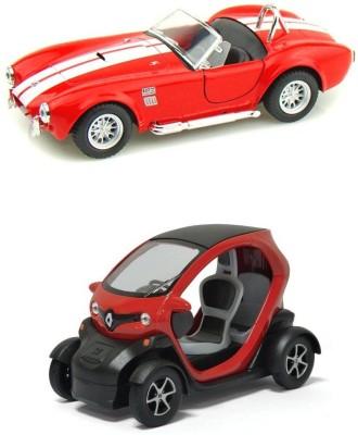 Kinsmart Shelby Cobra and Renault Twizy Mini Model