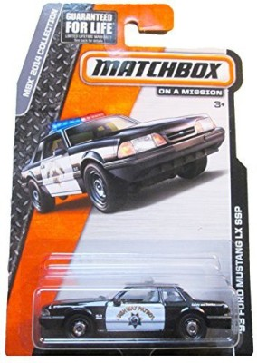 Mattel Matchbox Mbx 2014 Collection ,93 Ford Mustang Lx Ssp