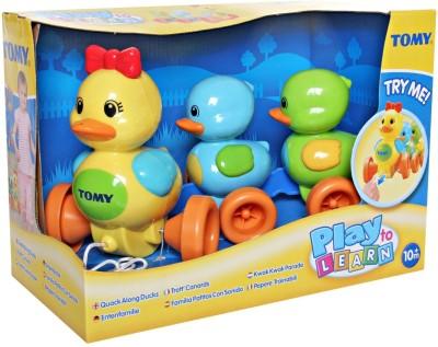 Funskool Tomy Quack Along Duck - Tomy, Quack