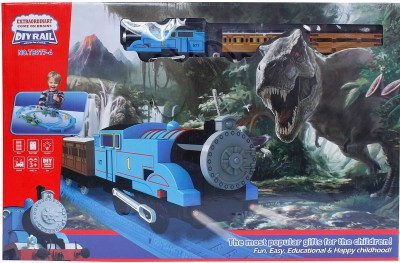 Buds N Blossoms Jurassic Park Train Ride DIY Rail Track