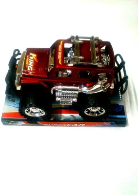 Turban Toys Die Cast Modified Super King Jeep Car