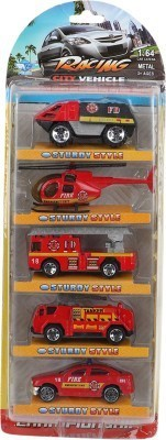 Toysocean Toysocean Fire Fighters Set - 5 Pieces