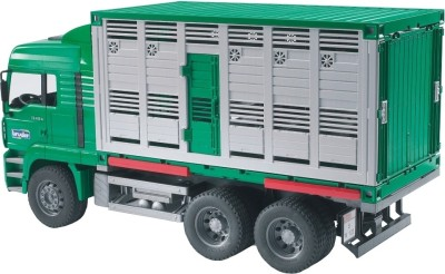 Bruder MAN TGA Cattle Transportation Truck