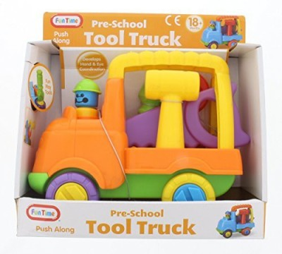 Funtime 5053 Pre-School Fun Play Push Along Tool Truck