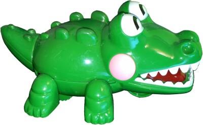 Mamaboo Wind-Up Crocodile Crocs - Green