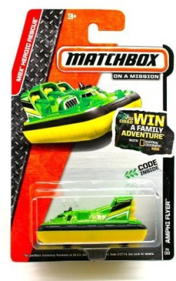 Matchbox Amphi Flyer  2014 Mbx Heroic Rescue 164 Scale