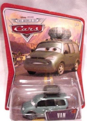 Mattel World Of Cars And Gt 61 Van