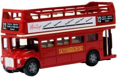 Hamleys Open Top London Bus Red