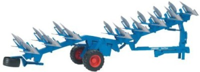 Bruder Toys Lemken Semi Mounted Reversible Plow