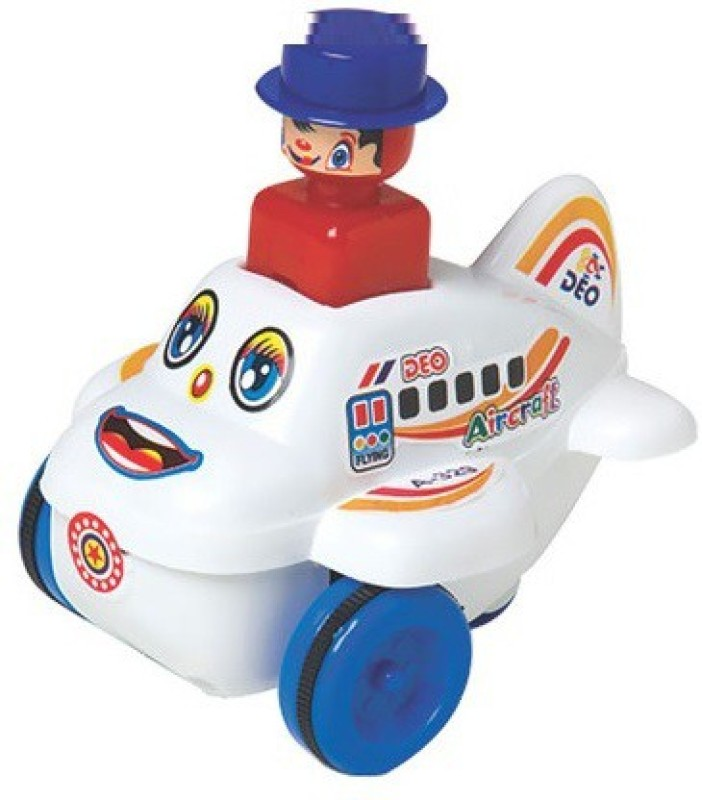 Azad Industries Push N Go Airplane(Multicolor)
