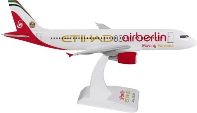Hogan Wings Airbus A320 Air Berlin/Etihad , Scale 1:200 (With Stand & No Gear)