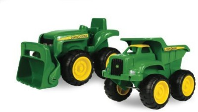 Tomy John Deere Sandbox 2Pktruck And Tractor