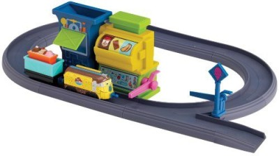 Tomy Chuggington Diecast Badge Quest Ice Cream Training Playset