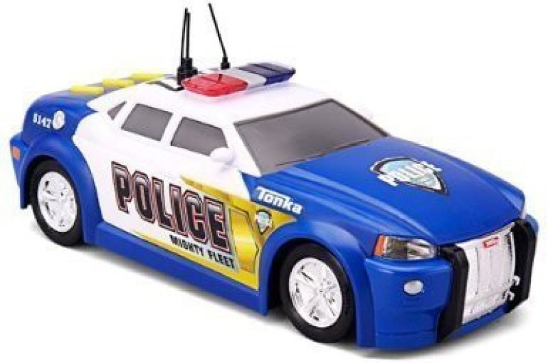 Funrise Tonka Lights And Sound Mighty Fleet Police Car (Colors May Vary)(Multicolor)