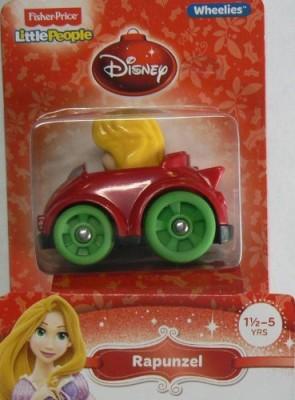 Disney Fisherprice Little People Wheelies Rapunzel