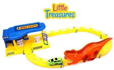 Little Treasures Hurricane King Race Track Repair Center Play Set