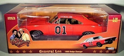 Auto World The Dukes Of Hazzard General Lee 1969 Dodge Charger 118