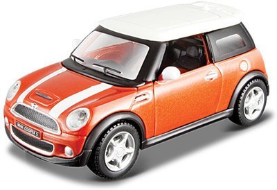 MAISTO Power Kruzers Mini Cooper S 4.5 inch Pull Back Diecast Model Car