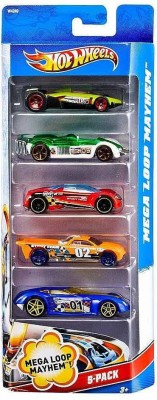 Hot Wheels Hot Wheels Five-Car Assortment Pack (Colors and Designs May Vary)