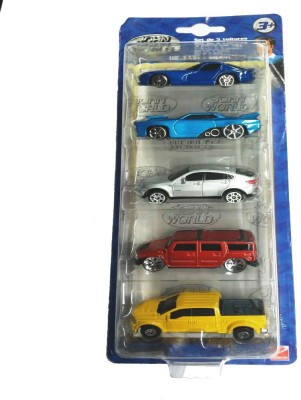 Hamleys Die-Cast / Metal 5 Pieces Car Set Multicolour