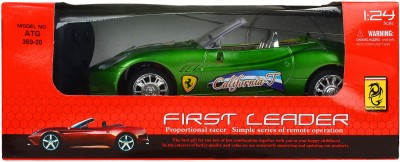 Teddy Berry Battery Operated First Leader Car(Green)