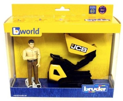 Bruder JCB Micro Dumpster HTD-5 with Figure