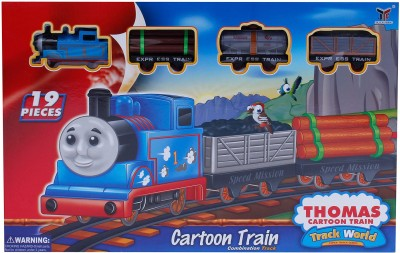 Buds N Blossoms Cartoon Train set with 19 pcs