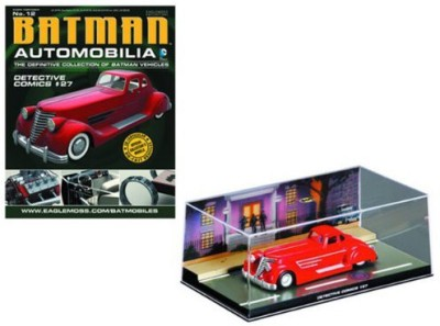 Eaglemoss Publications Dc Batman Automobilia Figurine Collection Magazine 12