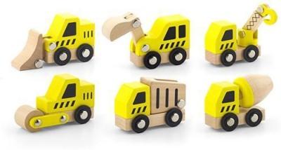 Viga Construction Vehicles 6 pcs Set