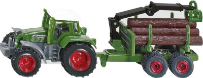 Siku Tractor with Forestry Trailer