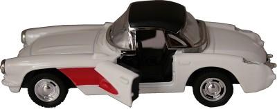 Adraxx 1:32 Scale Die Cast Metal Pullback Chevrolet Corvette Model Toy Car
