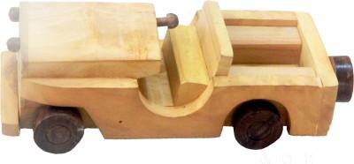ZoneMart Wooden Open Jeep