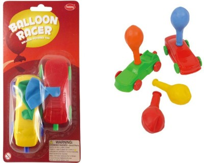 Flintstop Balloon Car Racer