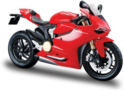 Maisto Ducati 1199 Panigale 1/18 toy bike model(Red)