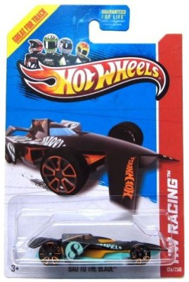 Hot Wheels Treasure Hunt Bad To The Blade Chase 2013