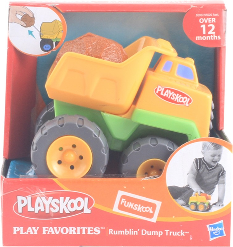 Funskool Playskool Rumblin' Tow Truck - Yellow(Yellow)
