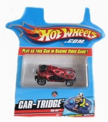 Mattel Hotwheels Turbo Driver Rd04 Cartridge