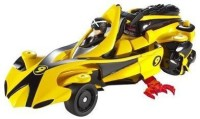 Hot Wheels Speed Racer 2 Vehicles In 1 Deluxe Vehicle And Figure Set - Deluxe Racer X Race Car(Multicolor)