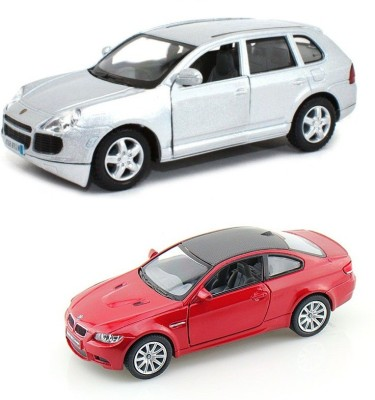 i-gadgets Kinsmart Porsche Cayenne Turbo and BMW M3 Coupe