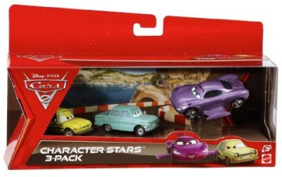 Mattel Cars 2 Collector Holly Shiftwellpetrov Trunkovand Acer 3Pack