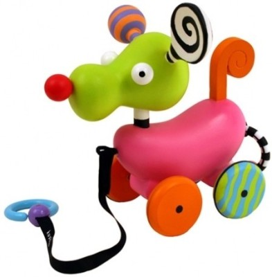 Kushies Zippy-Ozlo Pull Toy