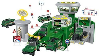 Little Treasures Military Base Play Set Toy